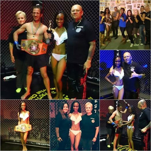 Our Cage fighting experience