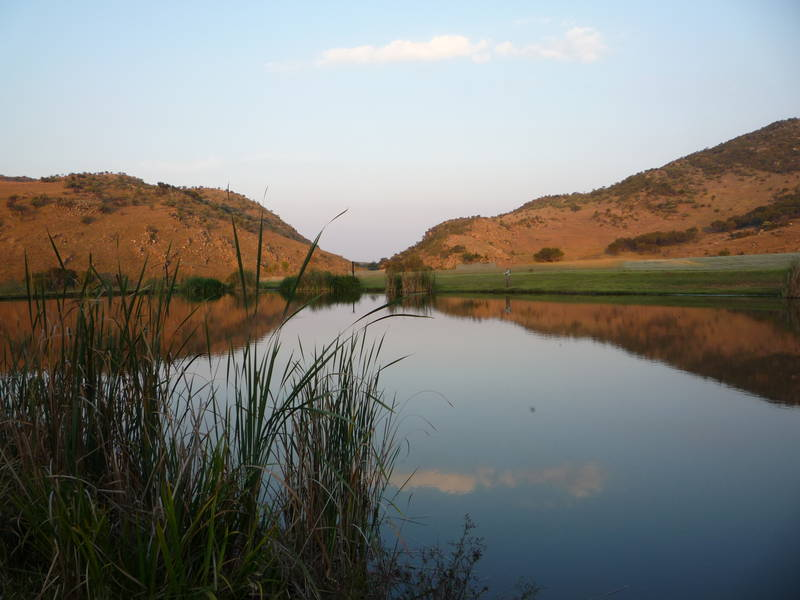 Kloofzicht lodge fly fishing dams