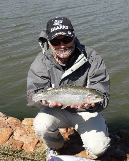Trophy trout with Sundowner Fly fishing Adventures