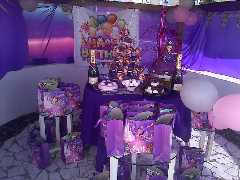 SOFIA THE FIRST DECOR