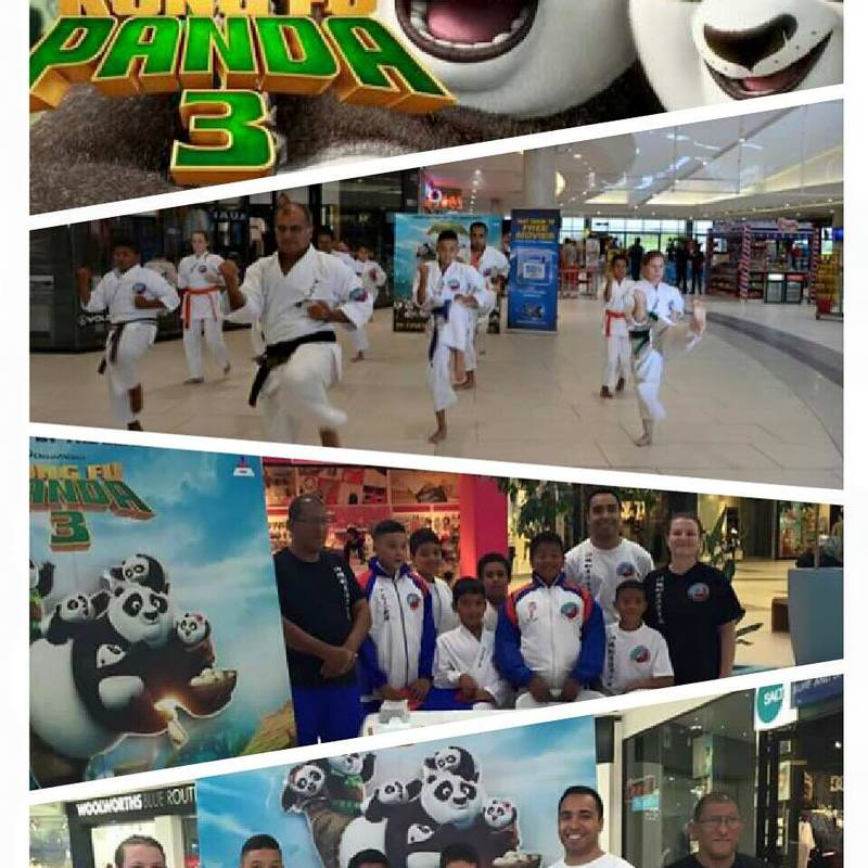 Kung Fu Panda promotion for Ster Kinekor.