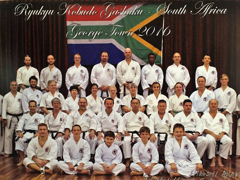 National Ryukyu Kobudo training camp,George