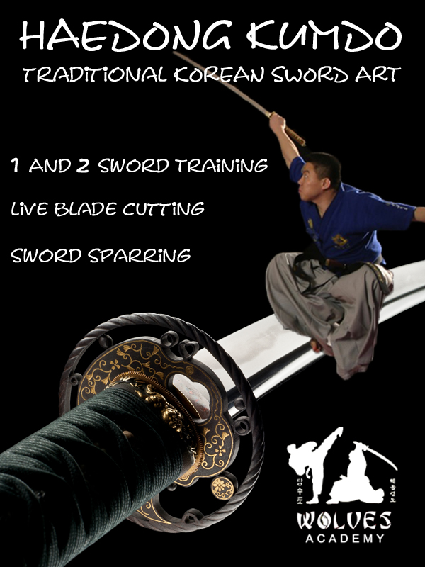 Junior & Senior Haedong Kumdo Korean Sword