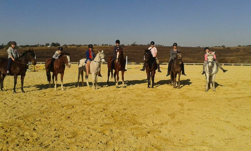 SOme of our riders during Pony Camp