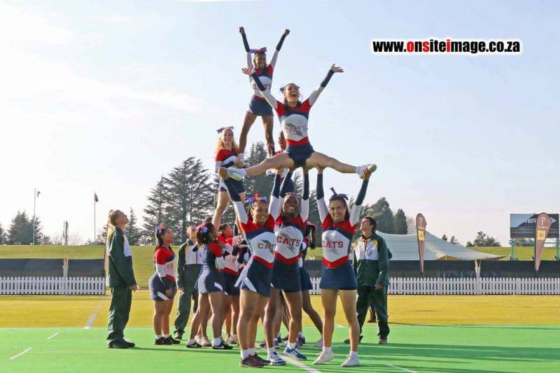 Cheerleading in Cape Town with Cheer Stars