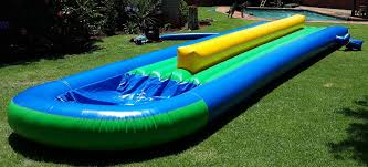 Double Slip 'n Slide offers hours of fun