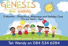Enrolments Now Open!!! Kempton Park Preschools