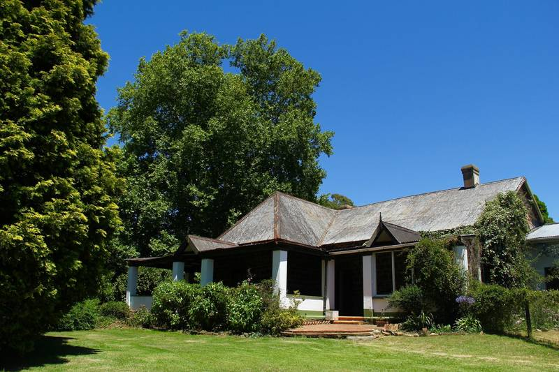 The original homestead which is now the principal and bursar's office and reception room