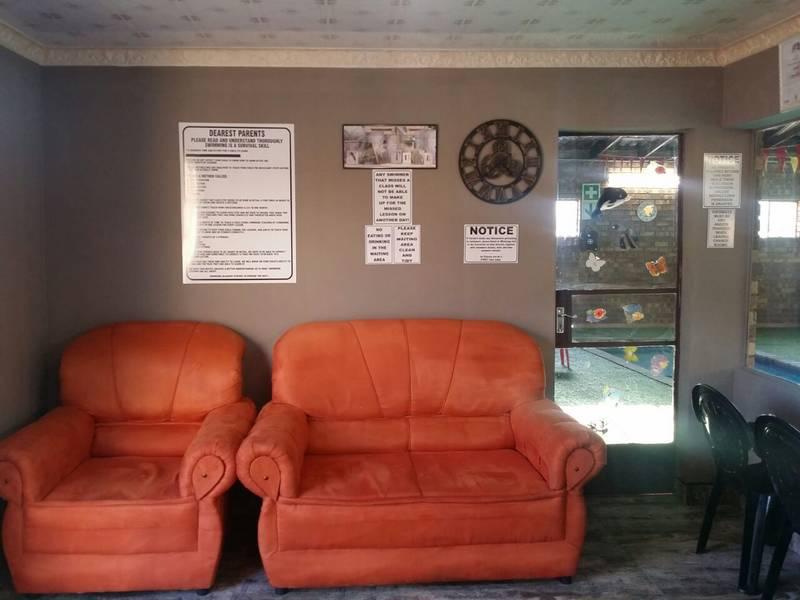 Waiting room area