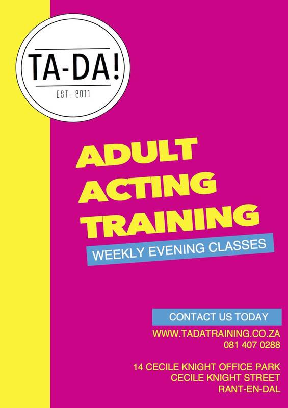 Weekly evening, Adult Acting classes.