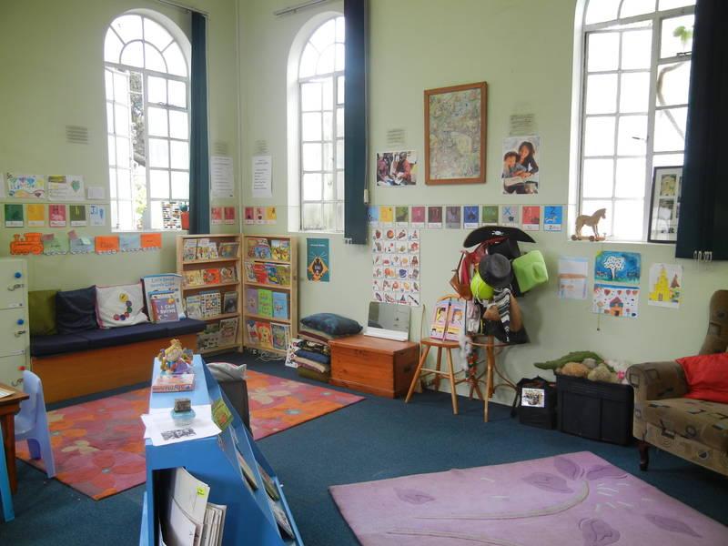 Example of Literacy Book Corner