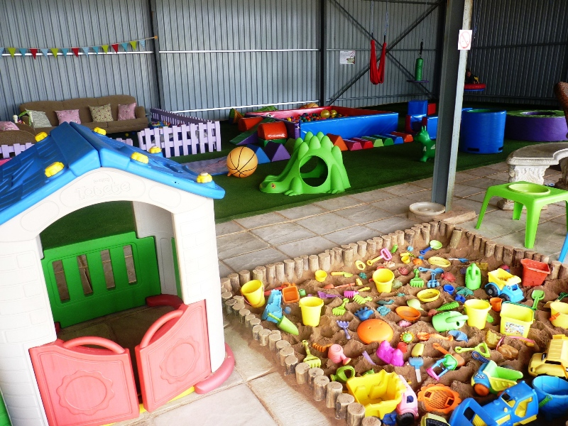 indoor playground & sandpit
