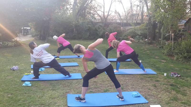 Pilates Garden Class