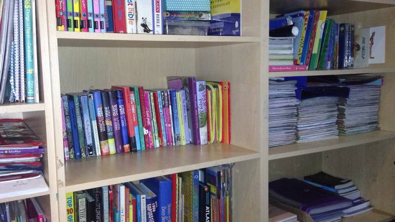 Children's Study Tidy Up
