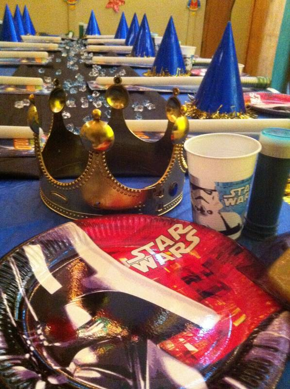 Planet Kids Themed Birthday Party (Star Wars)