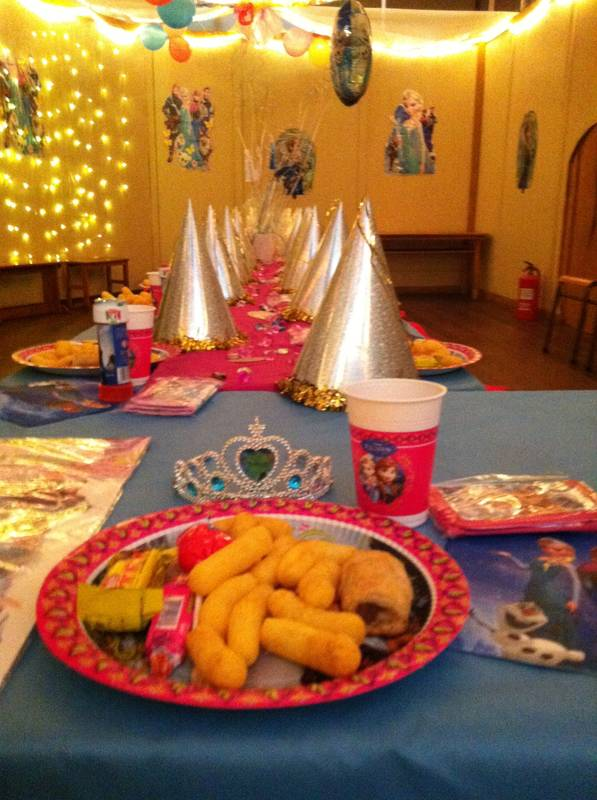 Planet Kids Themed Birthday Party (Frozen)
