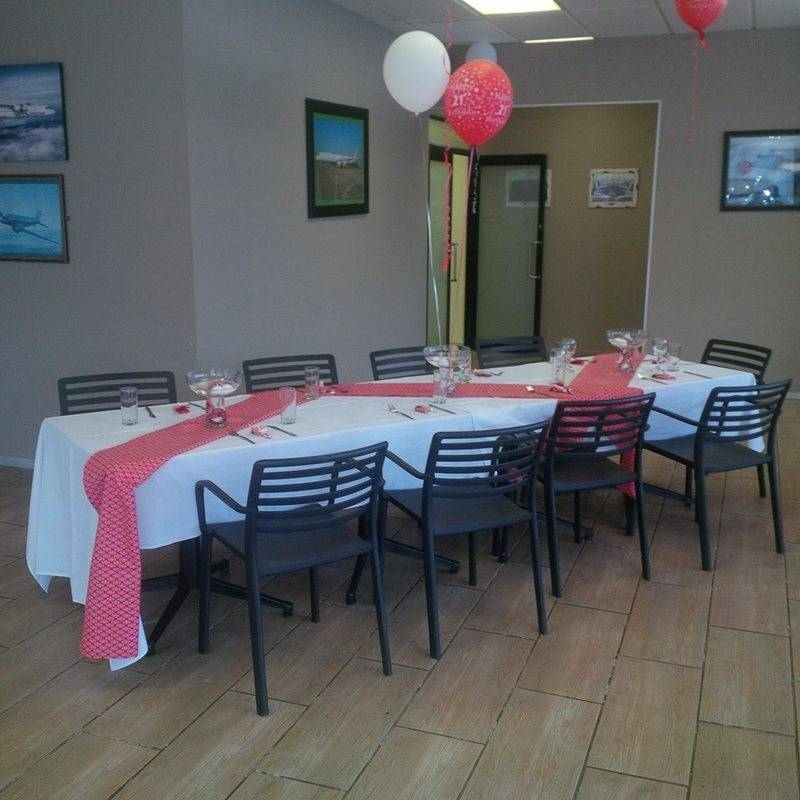 Valentine themed 21st birthday party