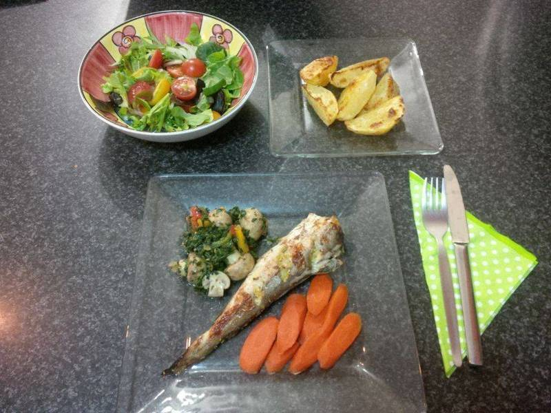 Healthy yet juicy fish dish, for those quest who prefer fish
