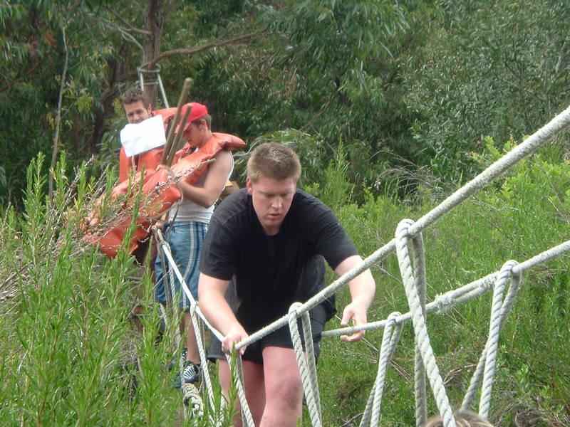 rope bridge Activities