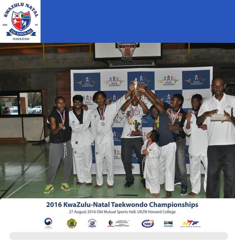Taekwondo Championships 2016 KZN