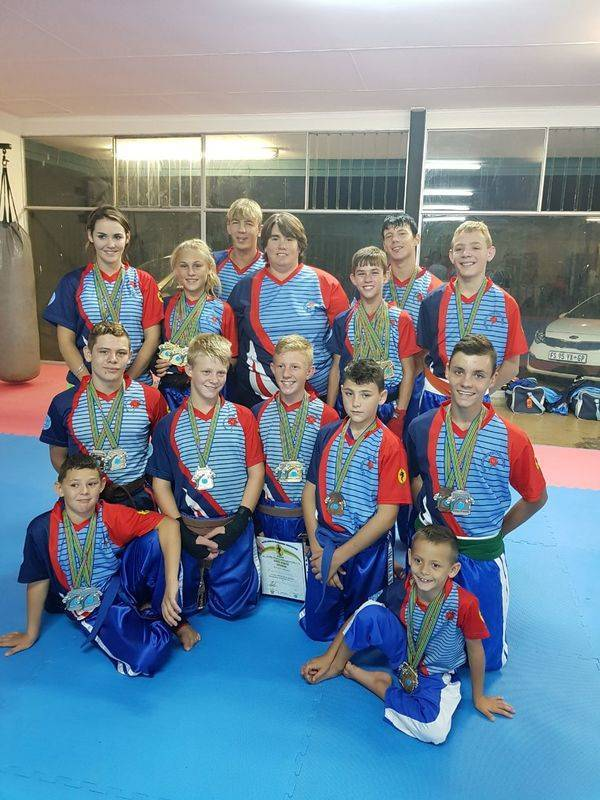 Gauteng North Team 2017 -  SA Champiionships - 14 Gold, 8 Silver, 5 Bronze
