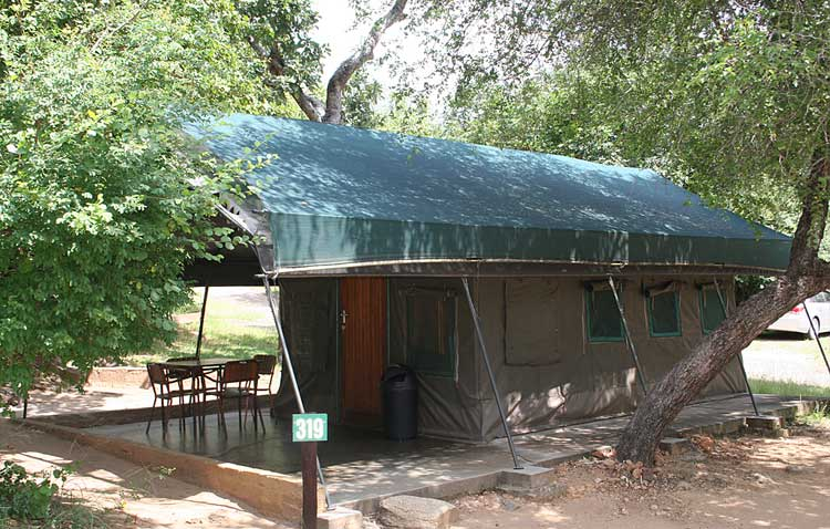 Safari Tent at Kruger National Park