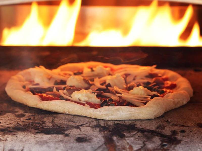 Pizzas made fresh at your venue