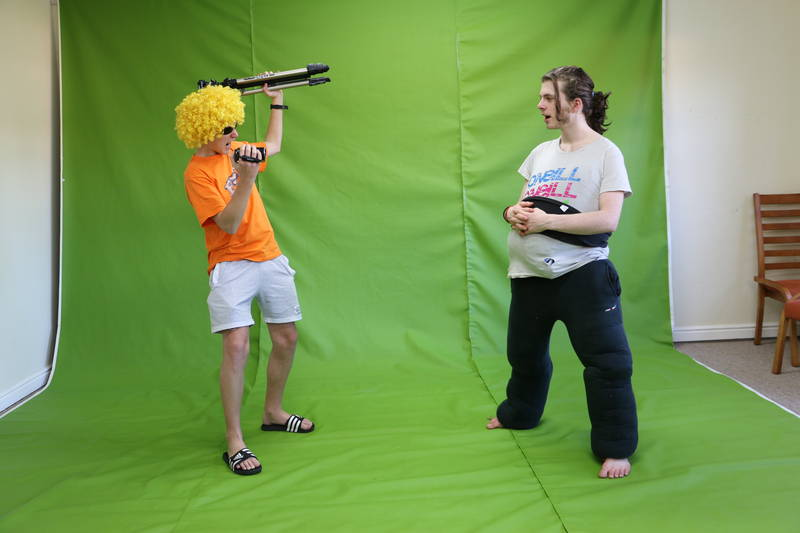 Green Screen Filmmaking