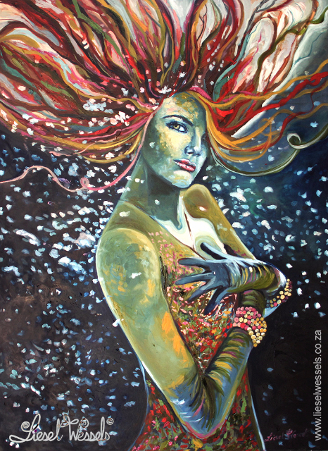 Mermaid (Sold Cape Town)