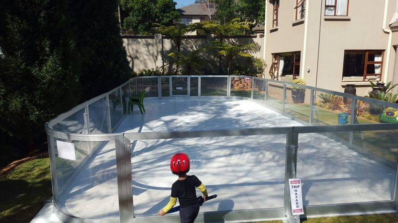 Synthetic Ice Rink Hire