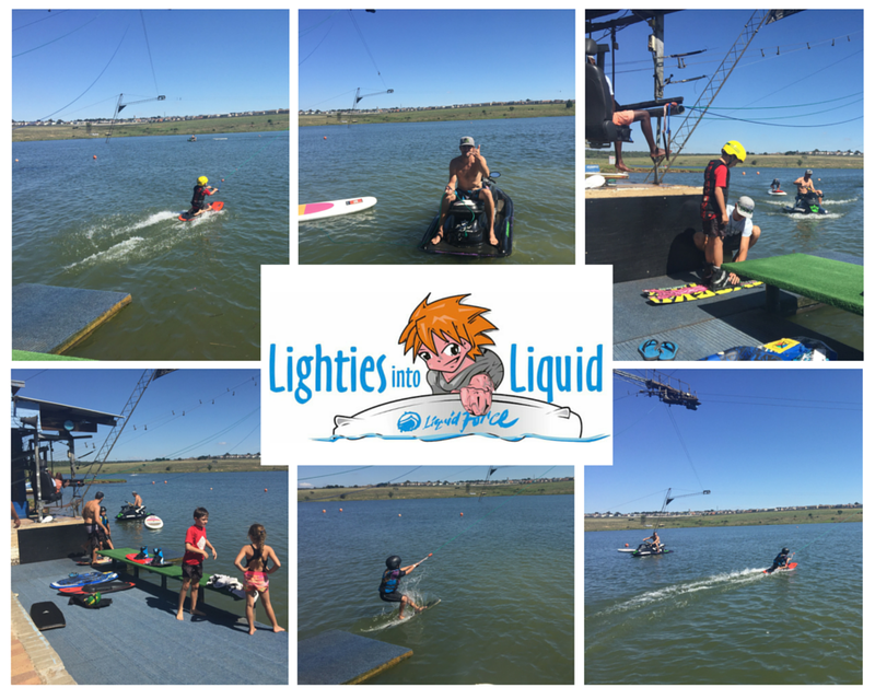 The Lighties into Liquid WakeSchool will get you and your kids up and riding at no time, mail info@stokecity.co.za for more info.
