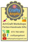 Art and craft workshops for children aged 4 to 10 years are held every second Saturday Rondebosch East Craft Classes & Lessons