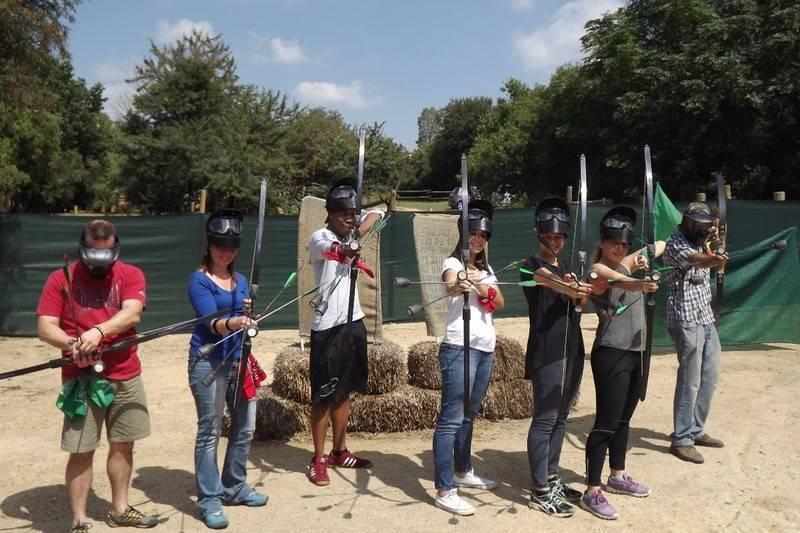 East Archers Combat Archery