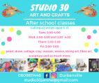 Studio 30 art and crafts